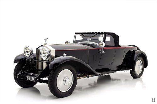 1930 ROLLS-ROYCE PHANTOM II TWO SEATER OPEN SPORTS BY HOOPER For Sale (picture 2 of 6)