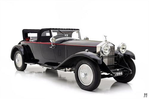 1930 ROLLS-ROYCE PHANTOM II TWO SEATER OPEN SPORTS BY HOOPER For Sale (picture 3 of 6)
