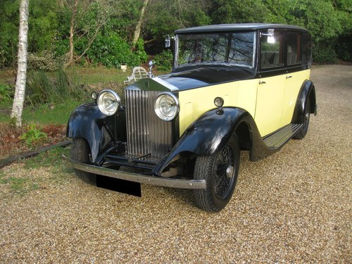 1934 Rolls-Royce 20/25 Six light Limousine By Hooper For Sale (picture 1 of 6)