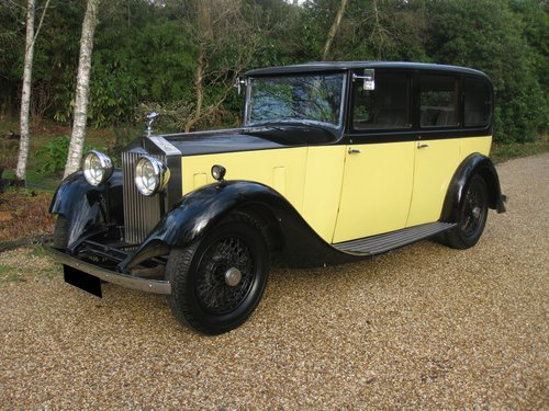 1934 Rolls-Royce 20/25 Six light Limousine By Hooper For Sale (picture 2 of 6)