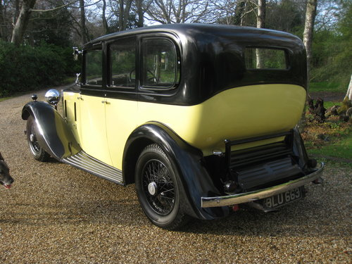 1934 Rolls-Royce 20/25 Six light Limousine By Hooper For Sale (picture 4 of 6)