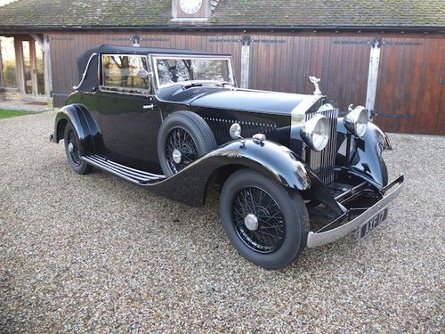 1934 Rolls-Royce 20/25 Drophead Coupe  by Hooper SOLD (picture 1 of 6)