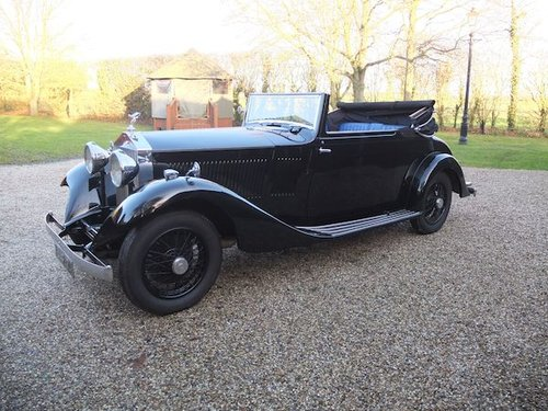 1934 Rolls-Royce 20/25 Drophead Coupe  by Hooper SOLD (picture 2 of 6)