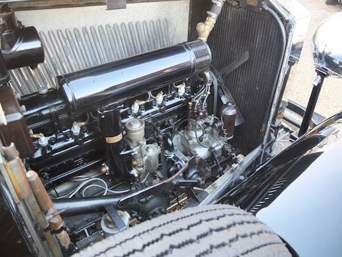 1934 Rolls-Royce 20/25 Drophead Coupe  by Hooper SOLD (picture 5 of 6)