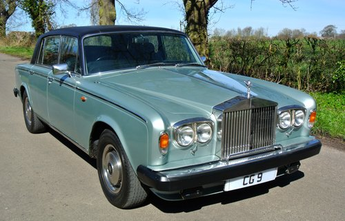 1978 ROLLS ROYCE SILVER WRAITH II  only 18k miles from new!   For Sale (picture 1 of 6)