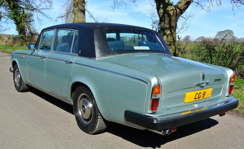 1978 ROLLS ROYCE SILVER WRAITH II  only 18k miles from new!   For Sale (picture 3 of 6)