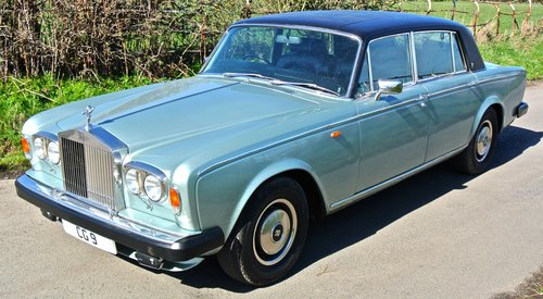 1978 ROLLS ROYCE SILVER WRAITH II  only 18k miles from new!   For Sale (picture 4 of 6)