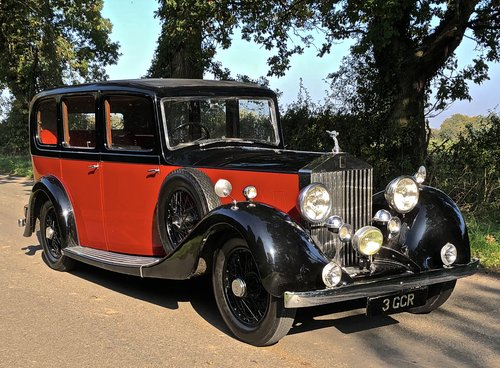 1936 ROLLS ROYCE 20/25 Limousine  For Sale (picture 1 of 6)