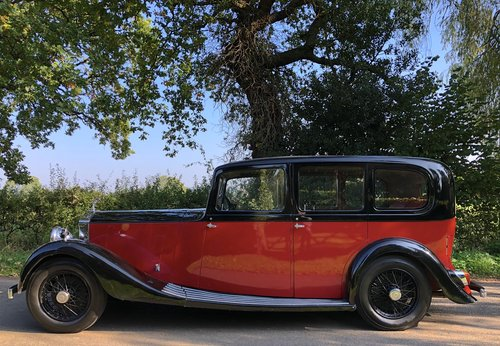 1936 ROLLS ROYCE 20/25 Limousine  For Sale (picture 2 of 6)
