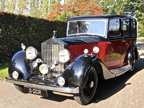 1936 ROLLS ROYCE 20/25 Limousine  For Sale (picture 4 of 6)