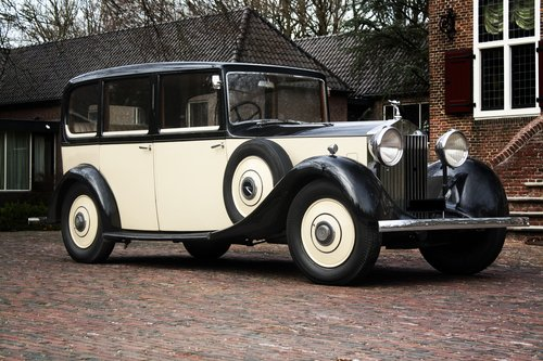 1935 Rolls Royce 20/25 Six Light Saloon Park Ward For Sale (picture 1 of 6)