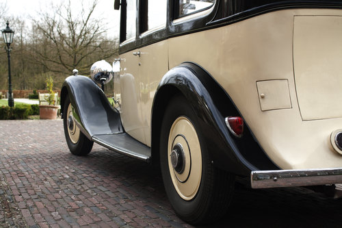 1935 Rolls Royce 20/25 Six Light Saloon Park Ward For Sale (picture 4 of 6)