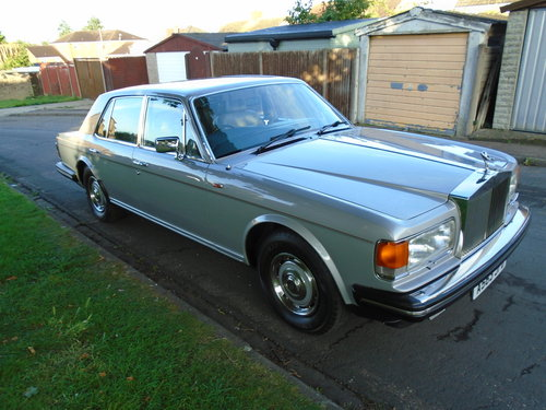 Rolls Royce Silver Spirit 78k 1984 georgian silver For Sale (picture 2 of 6)