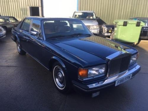 1989 Rolls Royce Silver Spirit 99k miles LHD Left Hand Drive For Sale (picture 1 of 6)