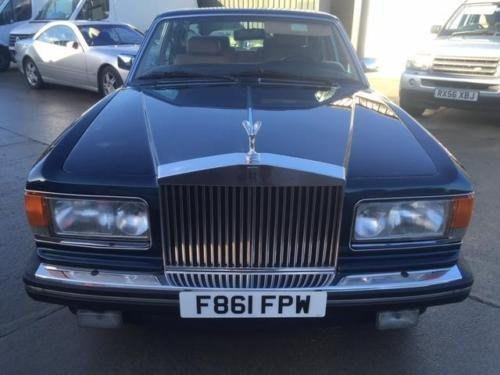 1989 Rolls Royce Silver Spirit 99k miles LHD Left Hand Drive For Sale (picture 2 of 6)