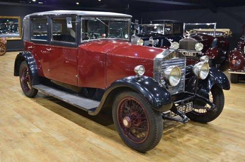 Vintage 1926 Rolls Royce 20HP Weymann Saloon For Sale (picture 3 of 6)