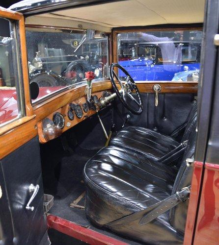 Vintage 1926 Rolls Royce 20HP Weymann Saloon For Sale (picture 4 of 6)