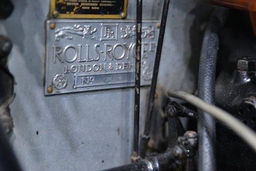 Vintage 1926 Rolls Royce 20HP Weymann Saloon For Sale (picture 6 of 6)