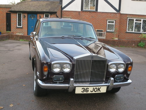 1976 Roll-Royce Silver Shadow I For Sale (picture 1 of 6)