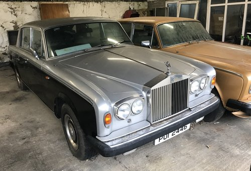 1978 Rolls Royce Silver Shadow II For Sale (picture 3 of 6)