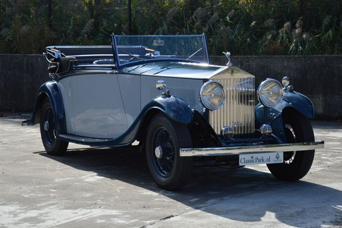 1934 (988) Rolls-Royce 20/25 3-Position Drophead Coupé  For Sale (picture 3 of 6)