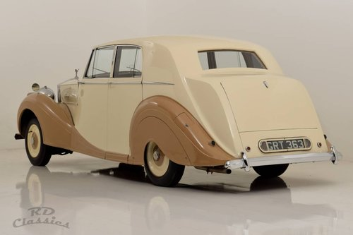 1950 Rolls Royce Silver Wraith Saloon For Sale (picture 3 of 6)
