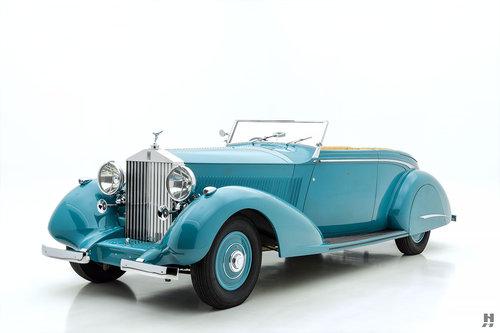 1937 ROLLS-ROYCE PHANTOM III DROP HEAD COUPE For Sale (picture 1 of 6)