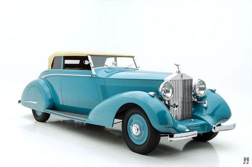 1937 ROLLS-ROYCE PHANTOM III DROP HEAD COUPE For Sale (picture 2 of 6)