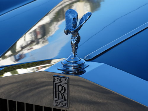 1977 Rolls Royce Silver Shadow II, elegant Caribbean Blue For Sale (picture 6 of 6)