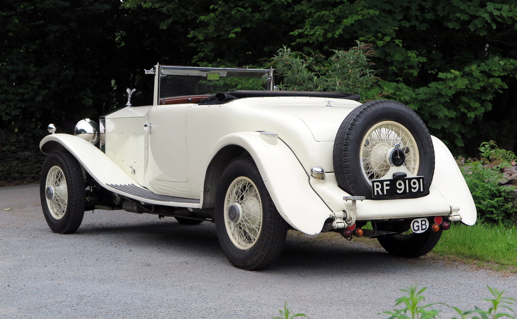 1932 Rolls-Royce PII Cont. Tourer H.J.Mulliner  DHC 28MS For Sale (picture 2 of 6)