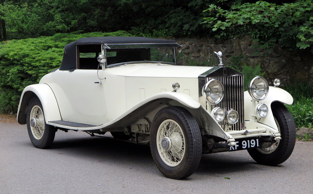1932 Rolls-Royce PII Cont. Tourer H.J.Mulliner  DHC 28MS For Sale (picture 4 of 6)