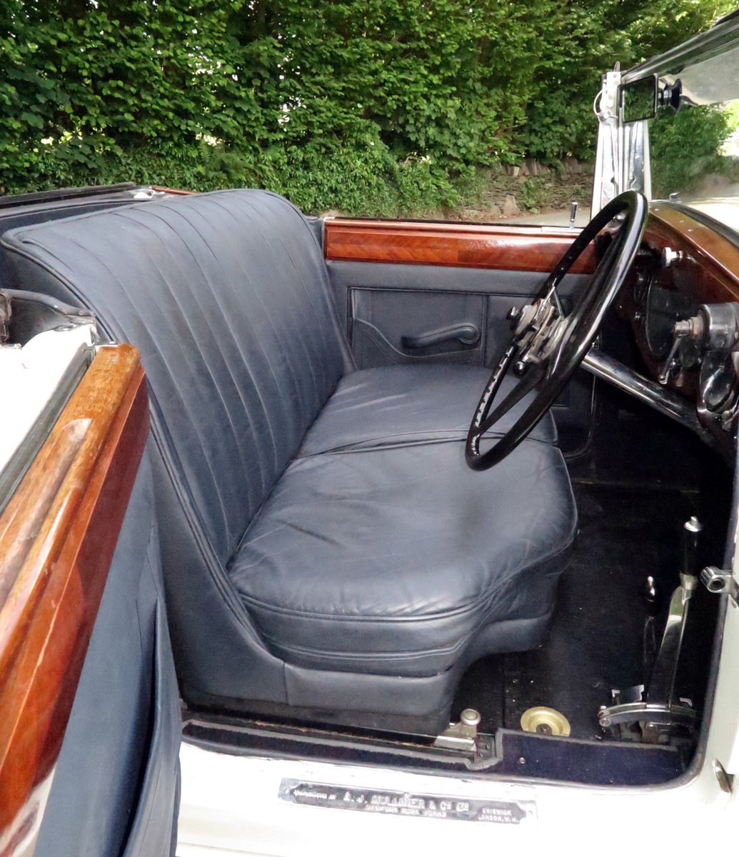 1932 Rolls-Royce PII Cont. Tourer H.J.Mulliner  DHC 28MS For Sale (picture 5 of 6)