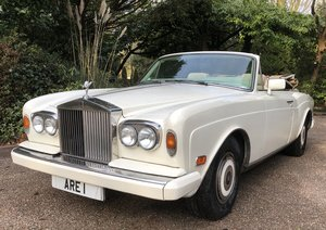 1988 ROLLS ROYCE CORNICHE II   CONVERTIBLE  LHD For Sale