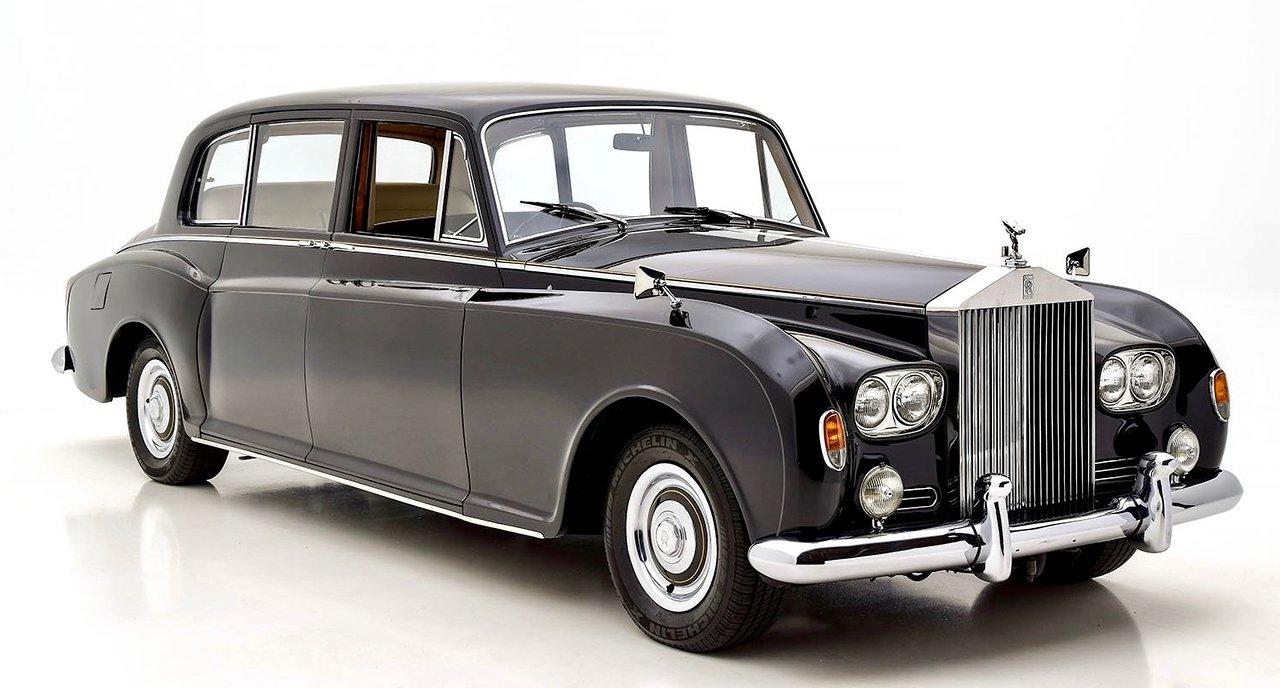 1960 Rolls Royce Phantom V Park Ward Limousine SOLD (picture 1 of 6)