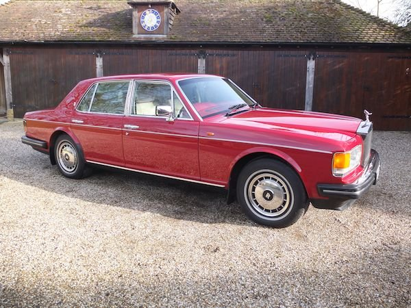 1991 Rolls-Royce Silver Spirit II For Sale (picture 1 of 6)
