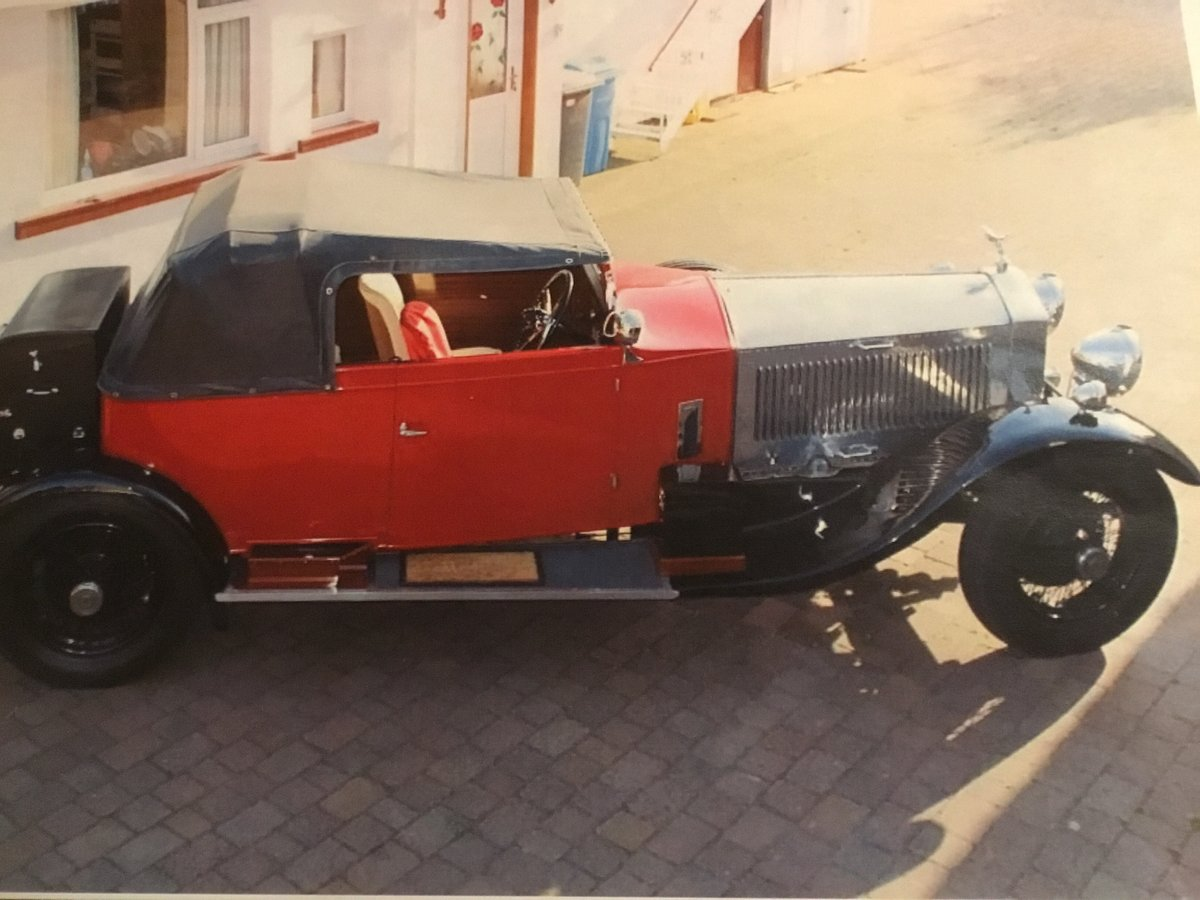 Restored 1928 phantom 1 50hp For Sale (picture 1 of 6)