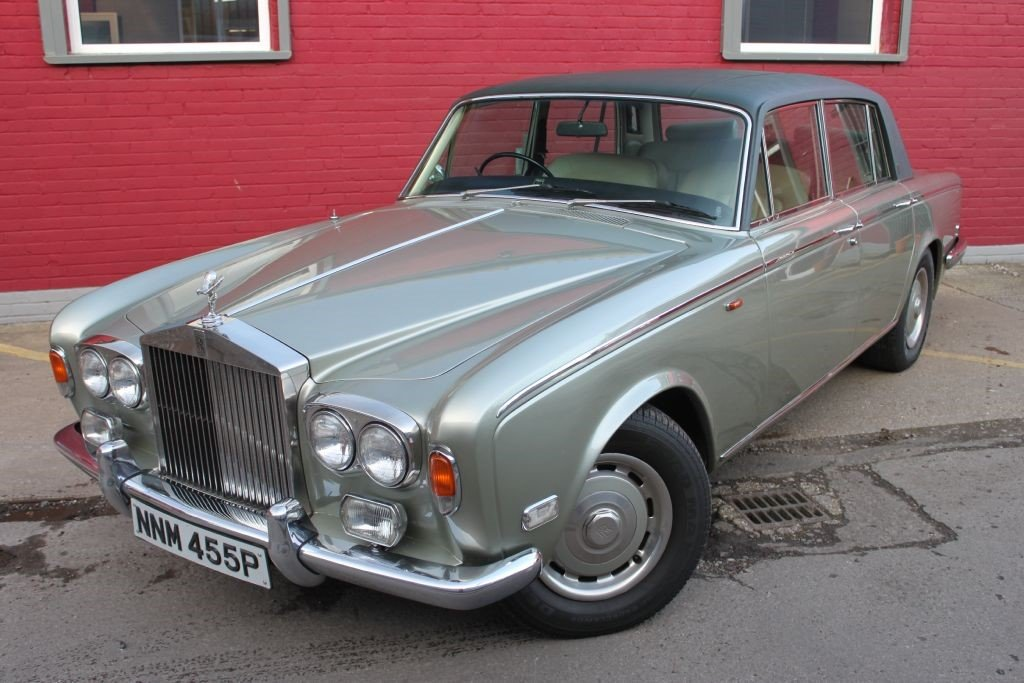 1976 ROLLS-ROYCE SILVER SHADOW LUXURY CLASSIC SILVER SHAOW 1  For Sale (picture 1 of 6)