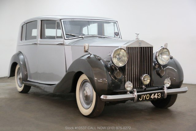 1947 Rolls-Royce Silver Wraith Limousine Right Hand Drive For Sale (picture 1 of 6)