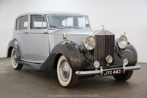 1947 Rolls-Royce Silver Wraith Limousine Right Hand Drive