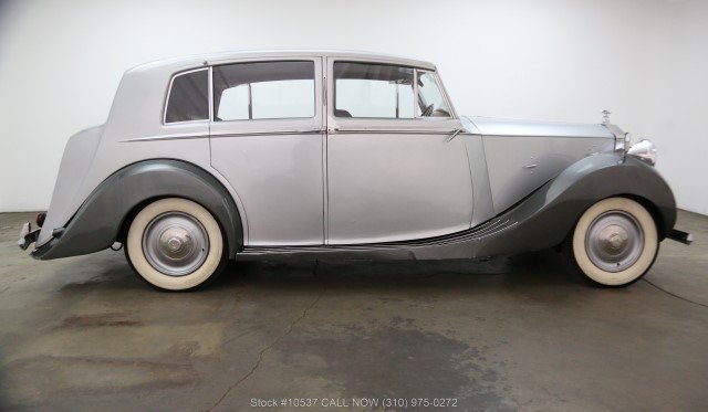 1947 Rolls-Royce Silver Wraith Limousine Right Hand Drive For Sale (picture 2 of 6)