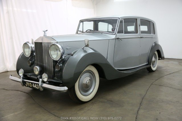 1947 Rolls-Royce Silver Wraith Limousine Right Hand Drive For Sale (picture 3 of 6)