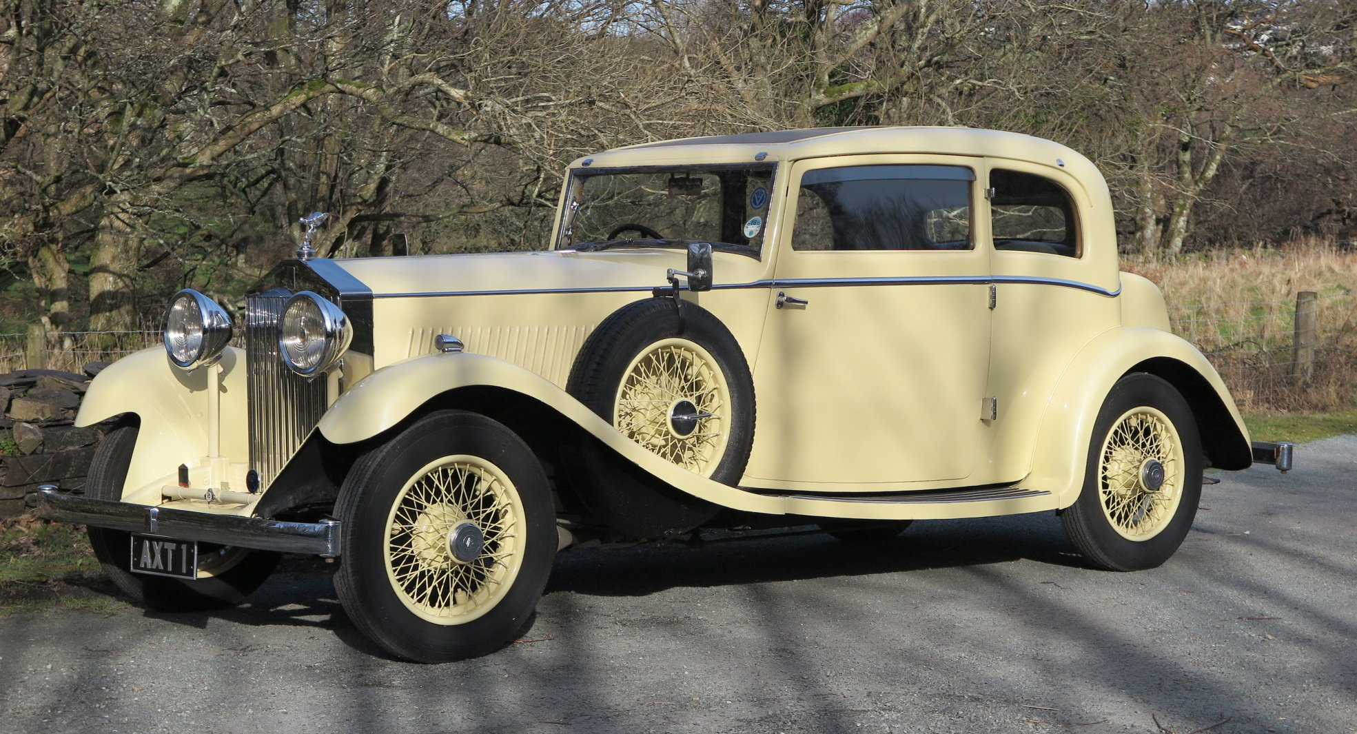 1934 Rolls-Royce 20/25 Lancefield 2 Dr 'Saloon Coupe' GXB26 SOLD (picture 1 of 6)