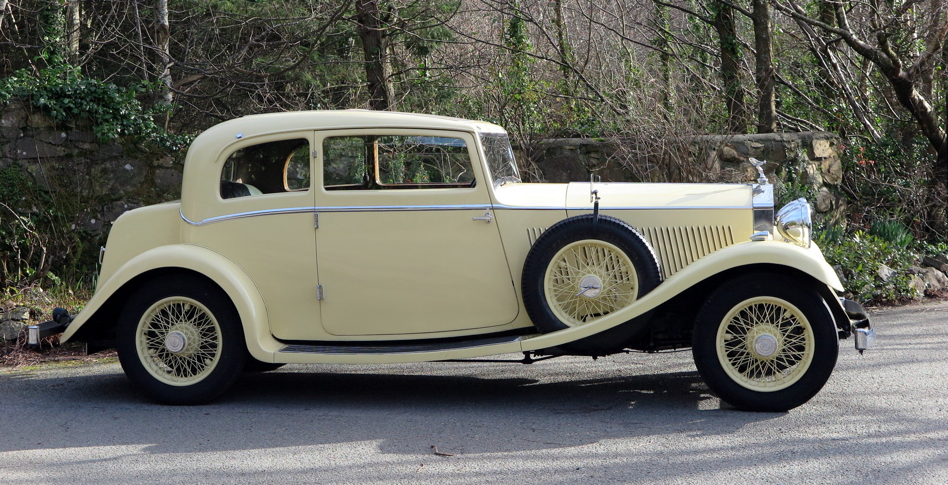 1934 Rolls-Royce 20/25 Lancefield 2 Dr 'Saloon Coupe' GXB26 SOLD (picture 2 of 6)