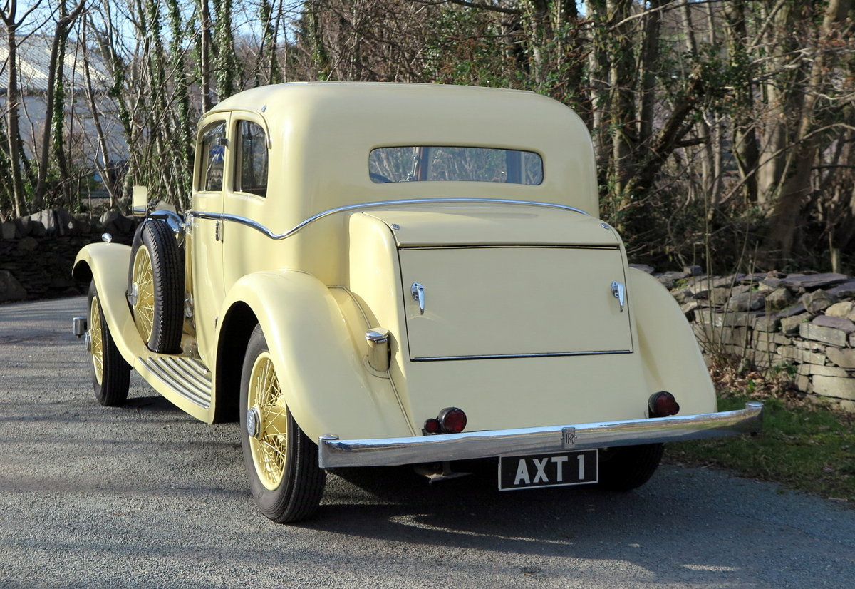 1934 Rolls-Royce 20/25 Lancefield 2 Dr 'Saloon Coupe' GXB26 SOLD (picture 3 of 6)