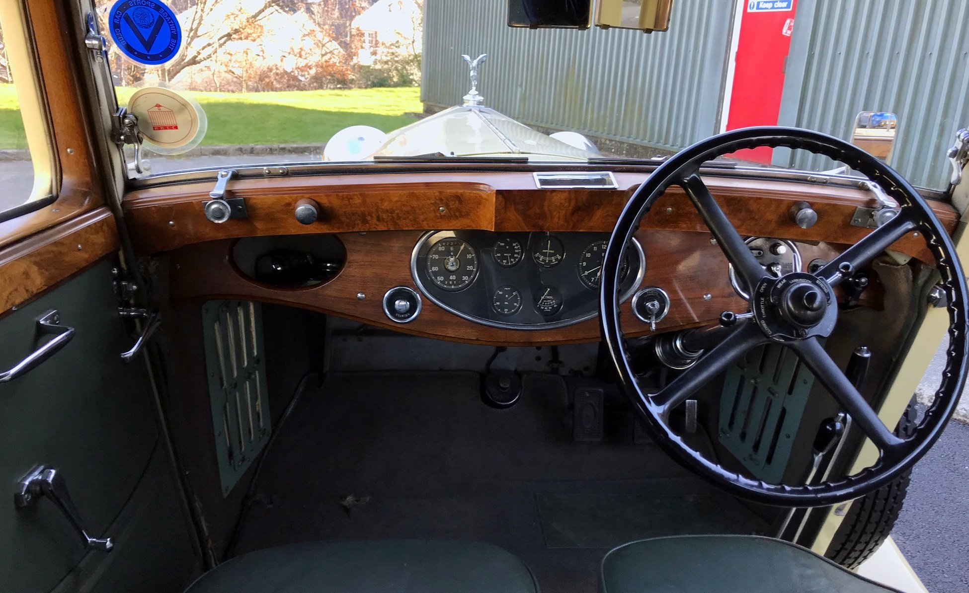 1934 Rolls-Royce 20/25 Lancefield 2 Dr 'Saloon Coupe' GXB26 SOLD (picture 4 of 6)