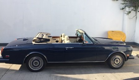 LHD 1990 Rolls-Royce Corniche convertible For Sale