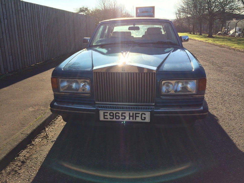 1988 Rolls Royce Silver Spirit For Sale by Auction 23rd Feb SOLD by Auction (picture 1 of 5)