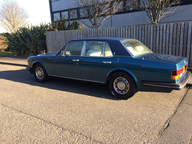 1988 Rolls Royce Silver Spirit For Sale by Auction 23rd Feb SOLD by Auction (picture 2 of 5)