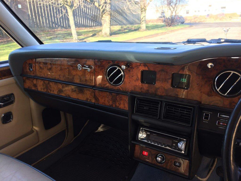 1988 Rolls Royce Silver Spirit For Sale by Auction 23rd Feb SOLD by Auction (picture 3 of 5)