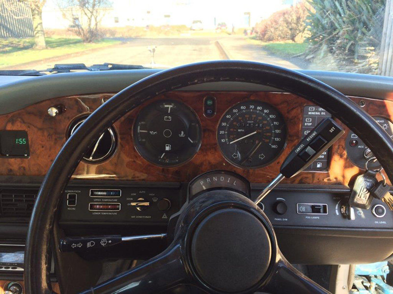 1988 Rolls Royce Silver Spirit For Sale by Auction 23rd Feb SOLD by Auction (picture 4 of 5)